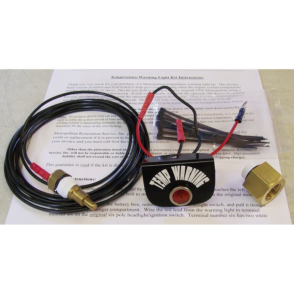 Mrs Cable Wiring Specialist Inc Temperature Warning Light Kit