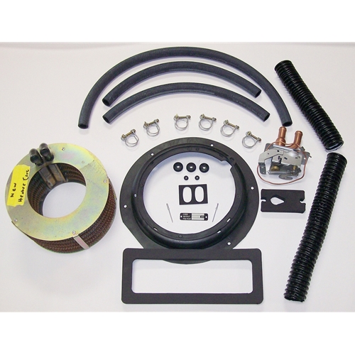 Rebuild Heater System Kit With New Heater Core - Early ID Tag With Late Heater Tube Plate