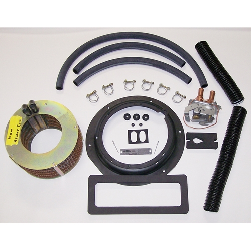 Rebuild Heater System Kit With New Heater Core - Late ID Tag With Late Heater Tube Plate