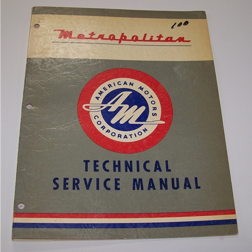 American Motors Service Manual -  on line download