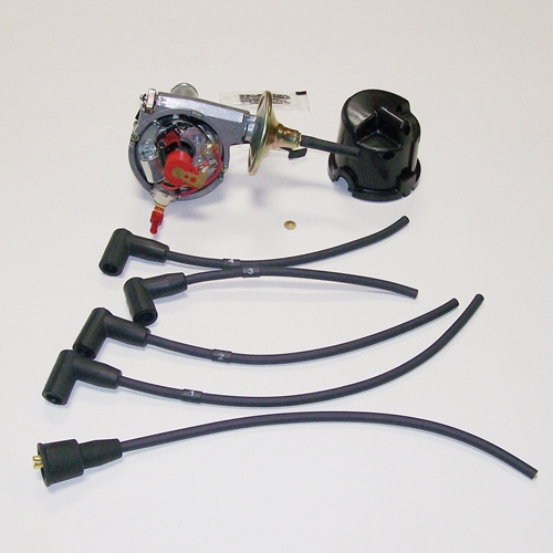 Late Distributor Cap With Points Original Style Distributor
