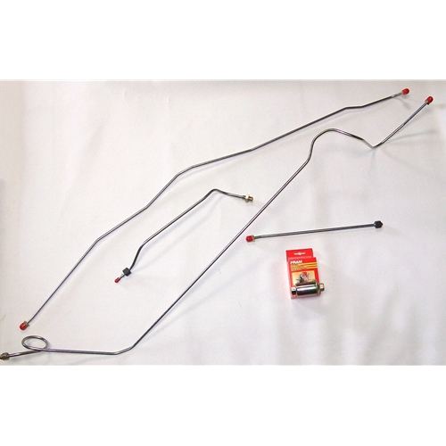 Stainless Steel Fuel Line Set