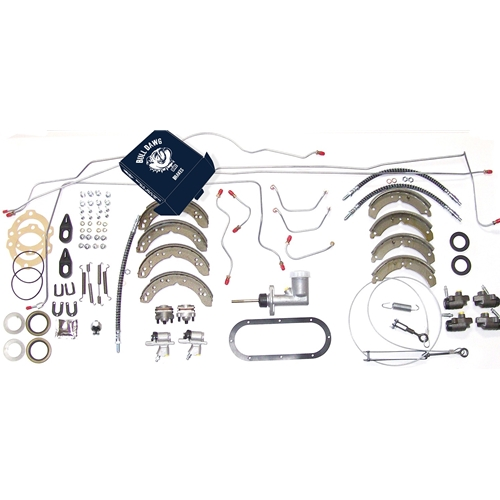 Late Steel Lines Overhaul Brake System Kit