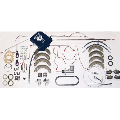 Late Stainless Steel Lines Overhaul Brake System Kit