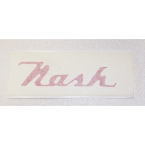 Nash Hubcap Decal