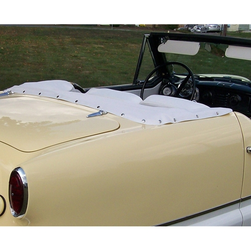 White Convertible Top Boot